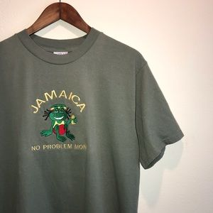 Yacht Club Jamaica Vacation T-Shirt No Problem Mon